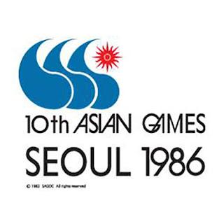 Logo Asian Games ke 10 Tahun 1986 di Seoul Korea Selatan