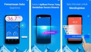 Aplikasi Pendingin HP Android Otomatis Populer