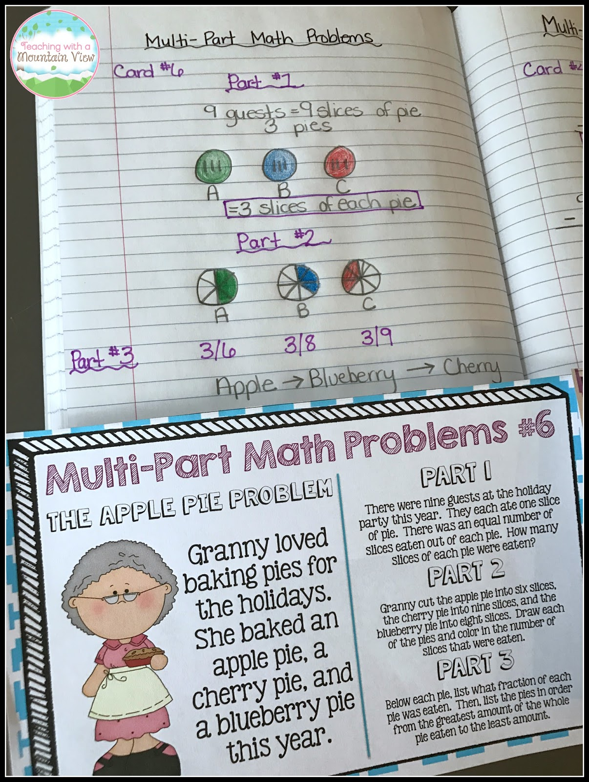 Teaching With a Mountain View: Mastering Multi-Step Word Problems