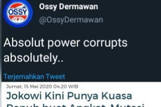 Jokowi Kini Punya Kuasa Penuh Angkat, Mutasi, dan Pecat PNS, Warganet: Ini Siapa Ya .. Setau Saya Fir'aun Gak Punya Keturunan