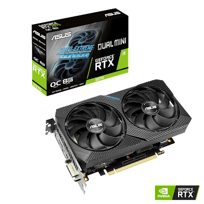 ASUS anuncia a placa gráfica Dual GeForce RTX 2070 MINI