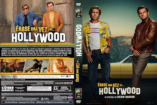 CARATULAERASE UNA VEZ EN HOLLYWOOD - ONCE UPON A TIME IN HOLLYWOOD - 2019
