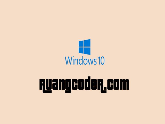 """Cara Mematikan """"Update"""" di Windows 10"""