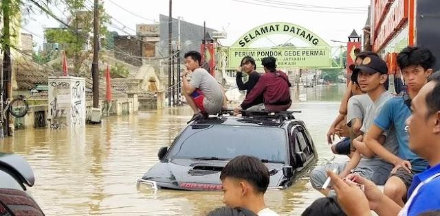 BNPB: 16 Orang Meninggal Akibat Banjir Jabodetabek