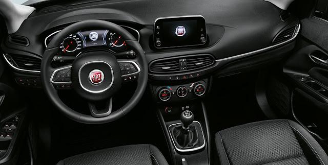 Novo Fiat Tipo 2017 - interior