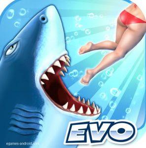 تحميل لعبة القرش الجائع Hungry Shark Evolution للموبيل اندرويد و ايفون
