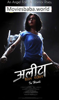 Download Alita Battle Angel (2019) Hindi 480p Dual Audio HDRip Esubs