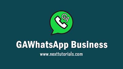 Download GAWhatsApp Business v20.4 Apk Latest Version 2020,gawa business v20.4,aplikasi wa mod terbaru 2020,whatsapp business plus v20.4 update 2020,