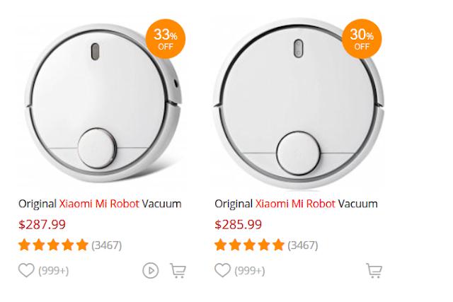 Xiaomi Mi Robot Vacuum до -30% намаление