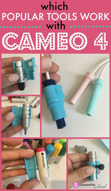 silhouette cameo 4 tutorials, cameo 4 tools, smart tool dual carriage, cameo 4 adapters, cameo 4