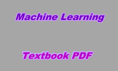 Machine Learning Textbook PDF
