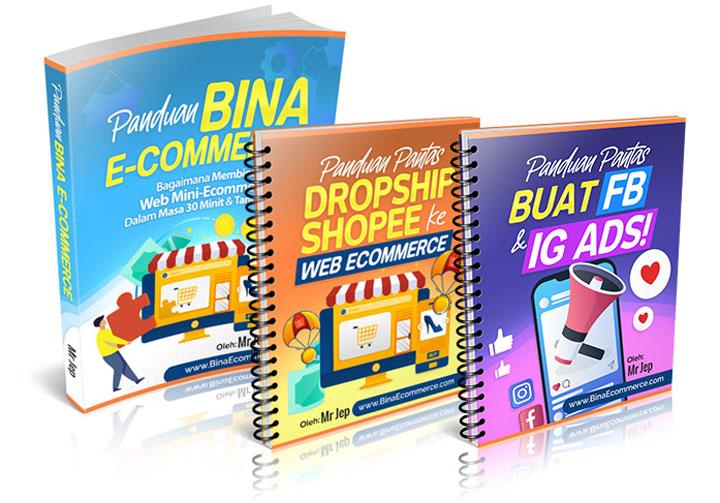 Panduan Bina Web E-Commerce