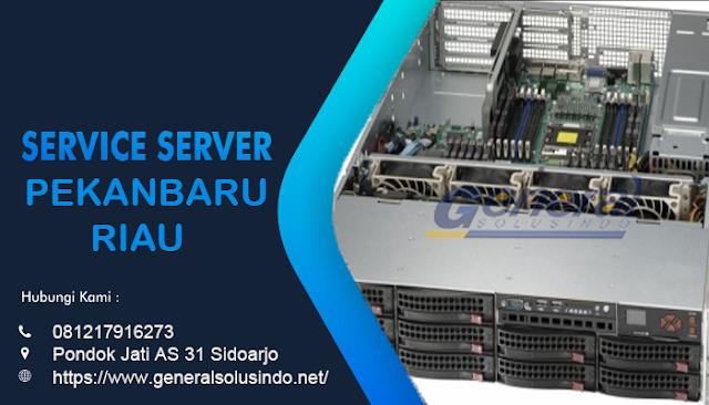 Service Server Pekanbaru Resmi dan Profesional