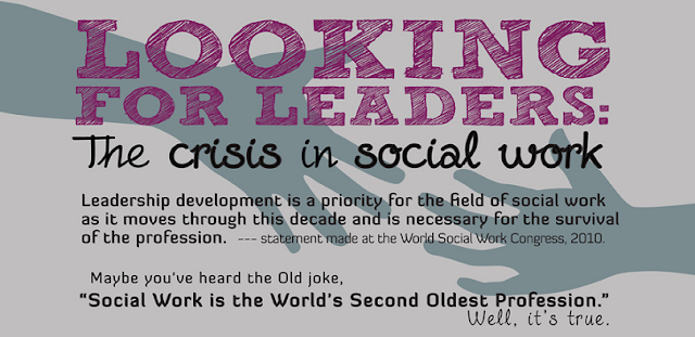 Looking-For-Leaders-The-Crisis-In-Social-Work #Infographic