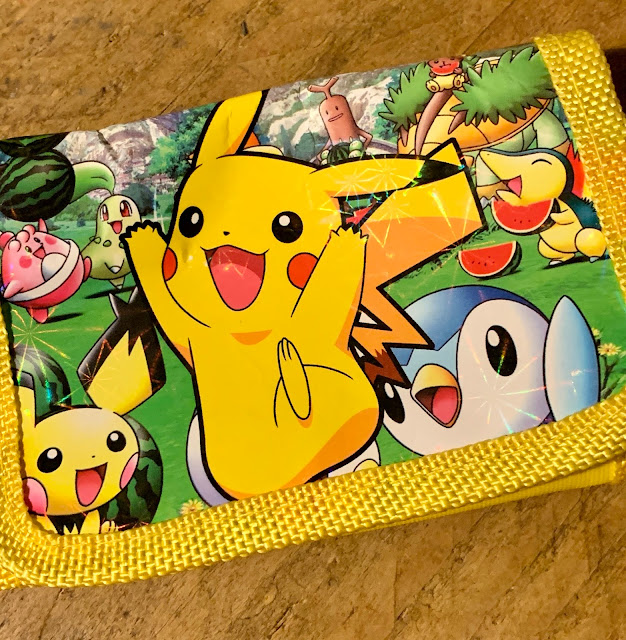 child's Pikachu Pokemon wallet