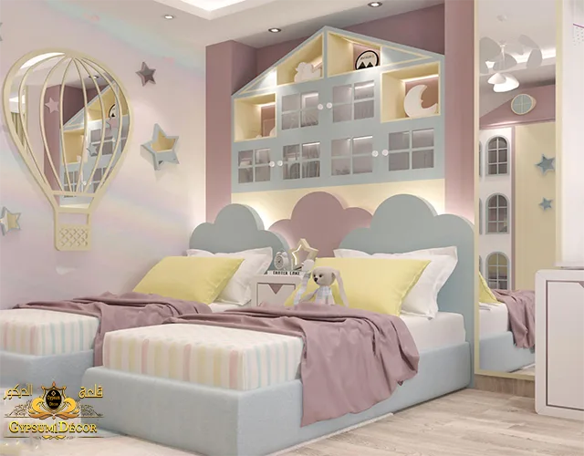 الوان غرف اطفال