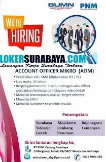 We Are Hiring at PT. PNM Cabang Surabaya Terbaru Juni 2019