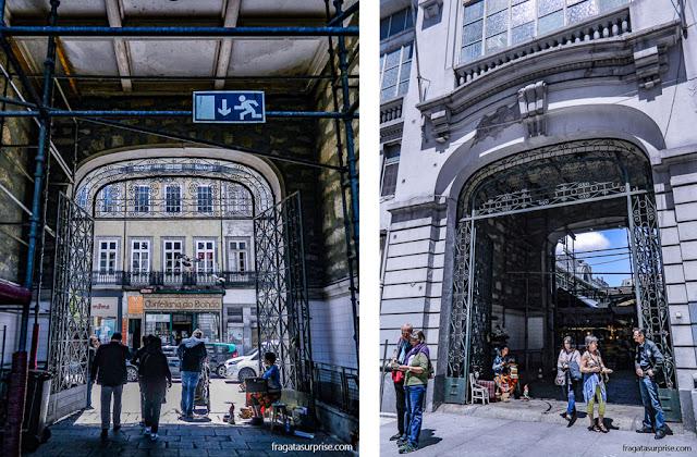 Portões do Mercado do Bolhão, Porto, Portugal