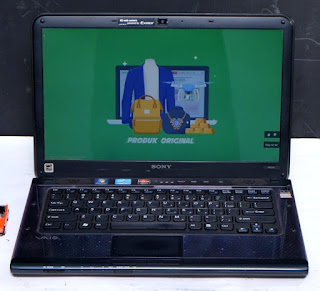 Laptop Gaming Sony Vaio VPCCA36FG Bekas