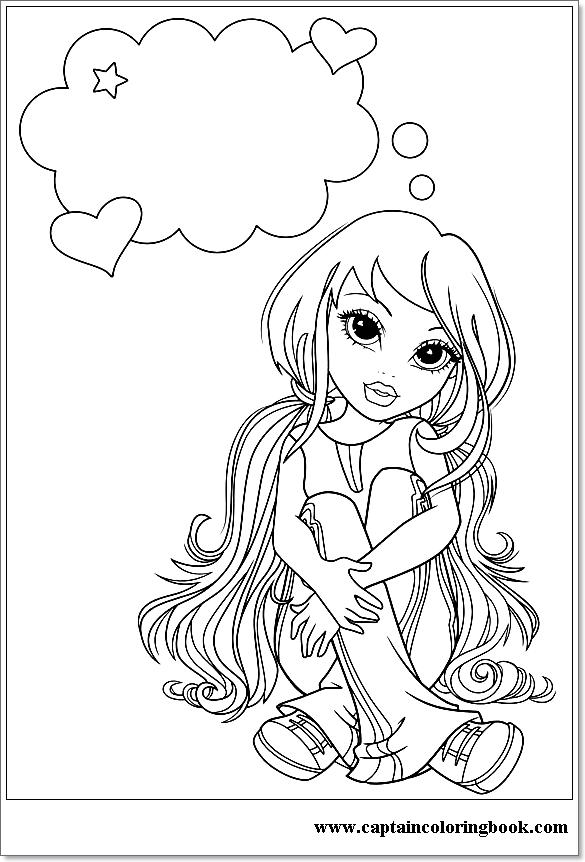 Moxie Girlz Coloring Page | Fargelegging, Aktiviteter, Prosjekter | 862x585
