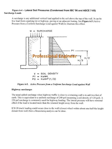 basics of retaining wall design
