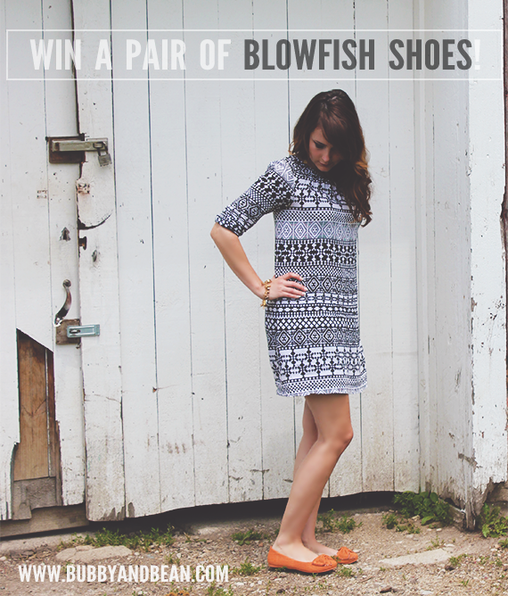 Win Your Choice of Any Pair of Blowfish Shoes from Bubby and Bean!