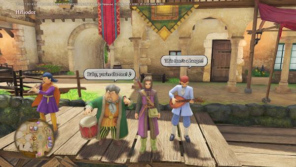 Dragon Quest XI S Heliodor this tune's a banger musicians Koichi Sugiyama