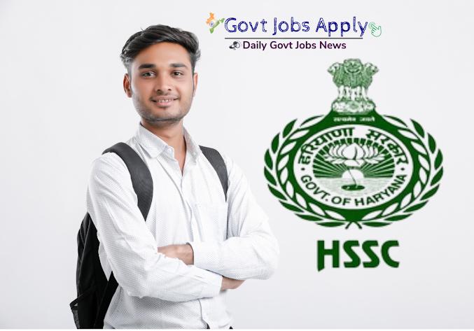 HSSC Latest Jobs