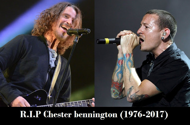 Chester Bennington & Chris Cornell