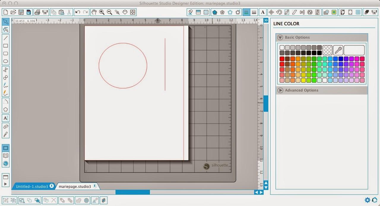Polka dot, shapes, Silhouette Studio, Silhouette tutorial
