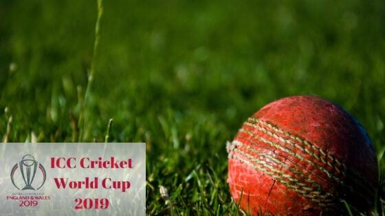 आईसीसी क्रिकेट वर्ल्ड कप २०१९ ICC Cricket World Cup 2019