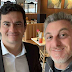 Sergio Moro e Luciano Huck negociam para disputar Presidência em 2022