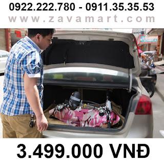Xe điện mini E-Scooter gấp gọn chính hãng ZAVAMART
