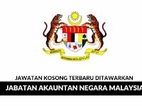 Jawatan Kosong Terkini Jabatan Akauntan Negara Malaysia (JANM) | Tarikh Tutup: 20 September 2019
