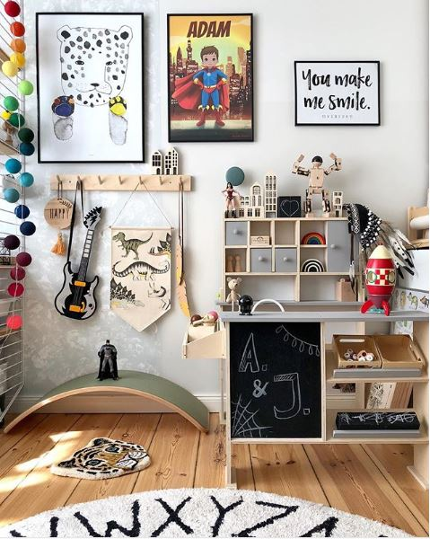 the boo and the boy kids 39 rooms on instagram. Black Bedroom Furniture Sets. Home Design Ideas
