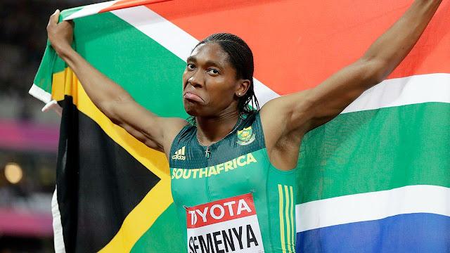 Caster Semenya corredora da África do Sul