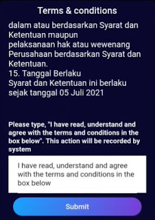 term and condition vtube