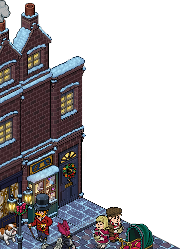 Background client Habbo Christmas
