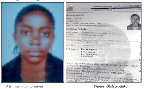 Photo of 15-year-old Schoolgirl Abducted on Her Way to JAMB Exam in Lagos