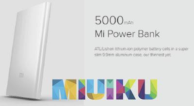 xiaomi mi power bank 5000 mah - daftar power bank xiaomi terbaru