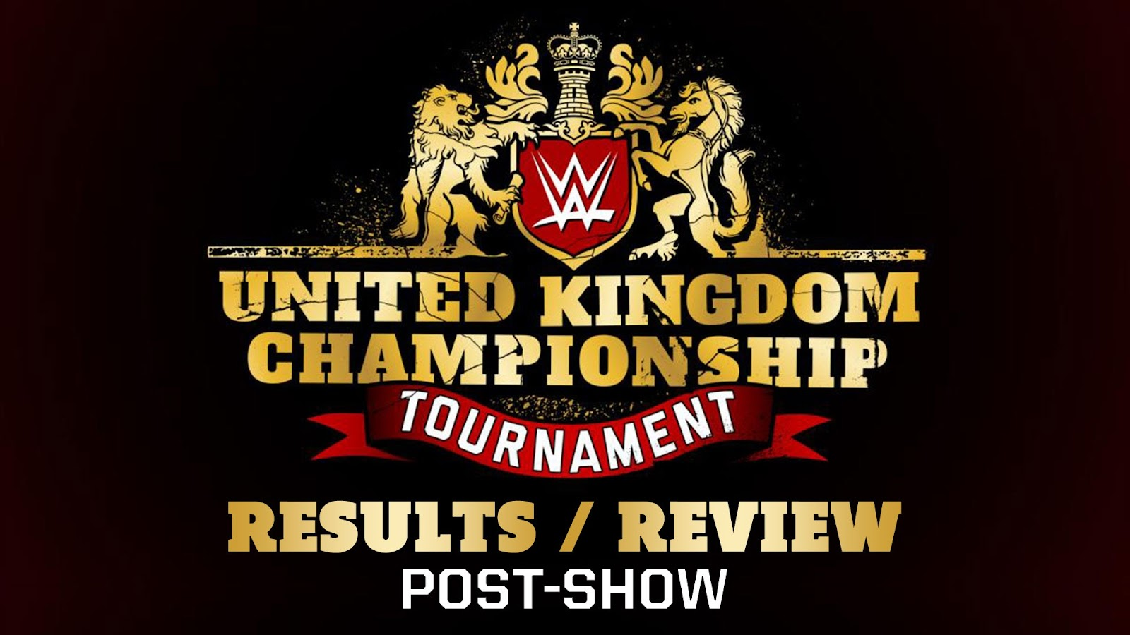 WWE United Kingdom Championship Tournament Recap and Review Podcast