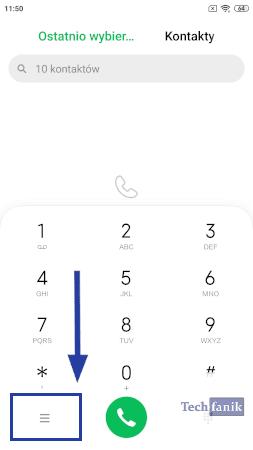 Aplikacja telefon od Xiaomi
