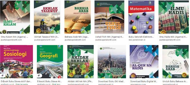 Koleksi perangkat guru buku digital mata pelajaran madrasah aliyah kelas xi