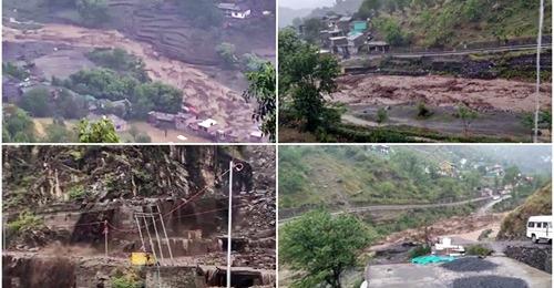 हिमाचल में बारिश का कहर, चंबा में बादल फटने से भारी नुकसान