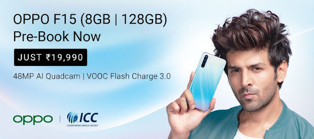 Oppo F15 Launched In India Full Specification ओप्पो एफ15 स्पेसिफिकेशन