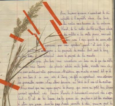 Cahier de classe promenade (collection musée)