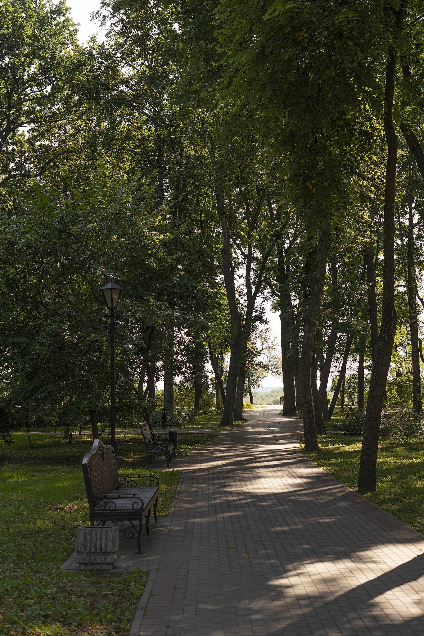 Gomel park Indian summer Belarus
