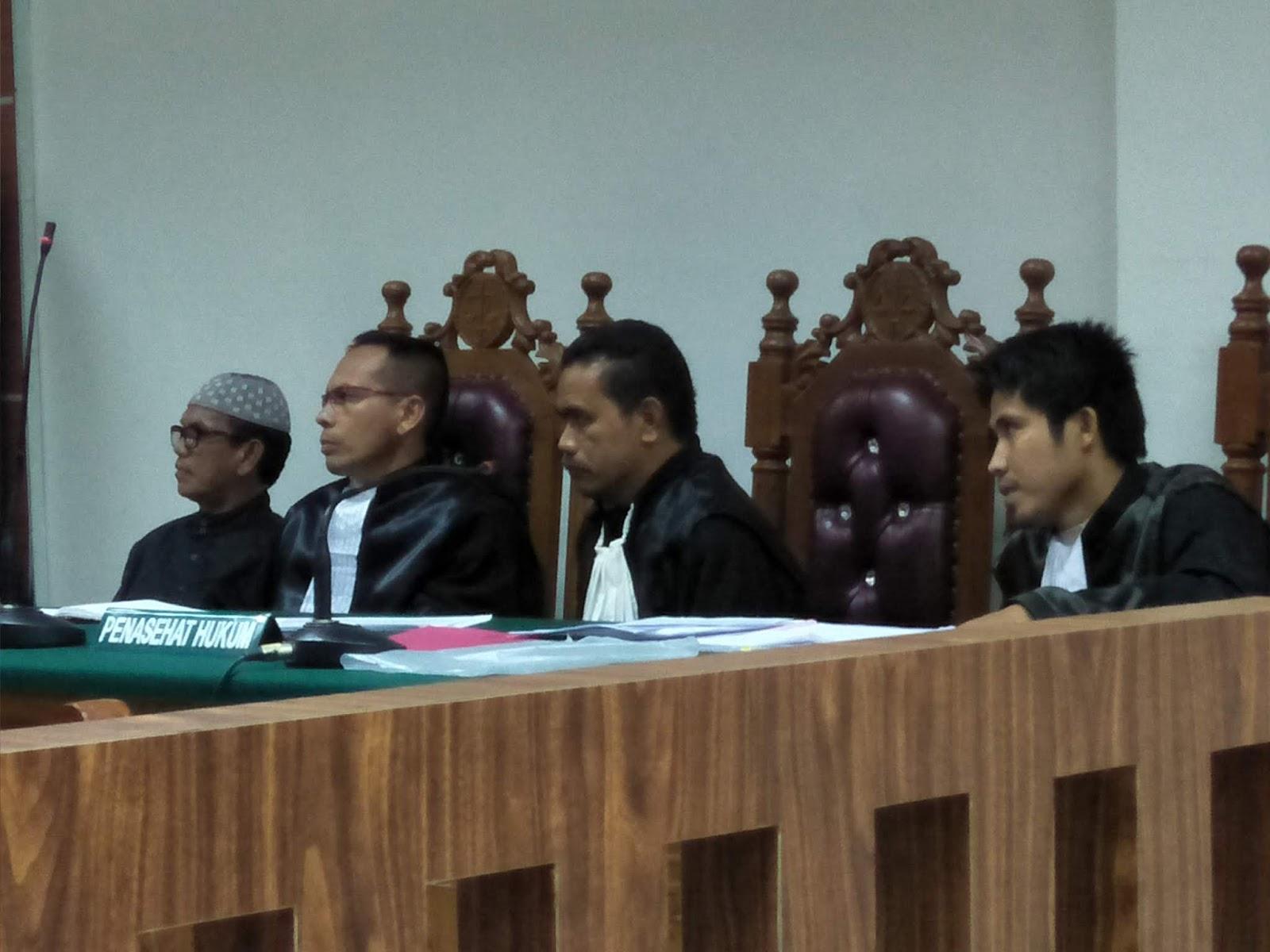 Putusan Sela Hakim Tolak Eksepsi Terdakwa Caleg Partai