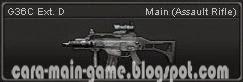 Senjata Point Blank G36C Ext. D