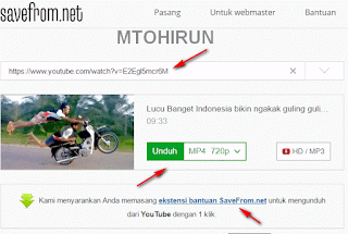 Download video dari youtube gratis